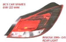 VAUXHALL INSIGNIA  2009+  O/S REAR LIGHT   DRIVERS SIDE REAR